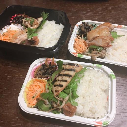 塩麹鯖&テリヤキチキン
