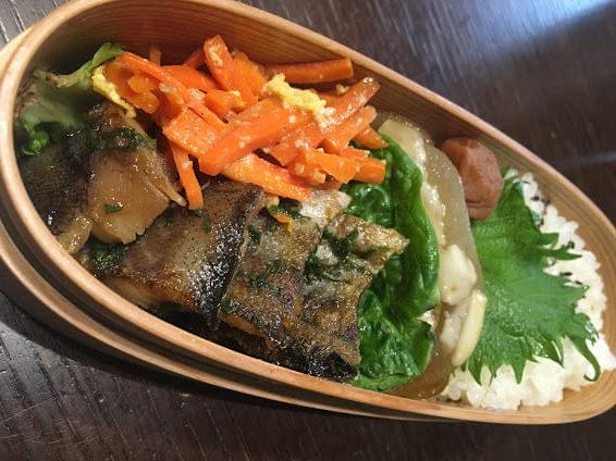 鱈のシソ醤油焼き弁当