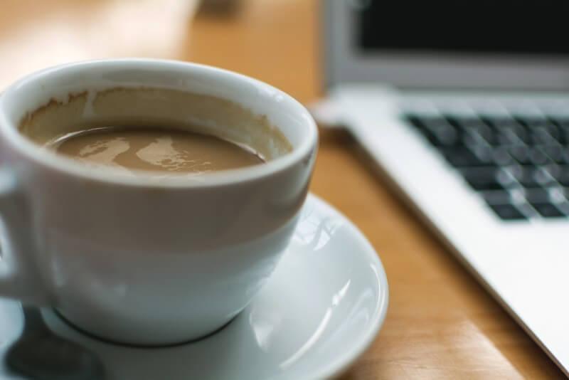 コーヒー&パソコン