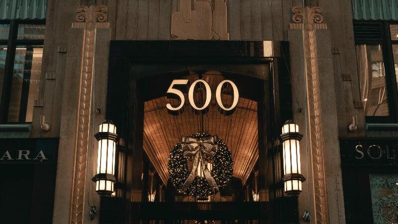 500のイメージ