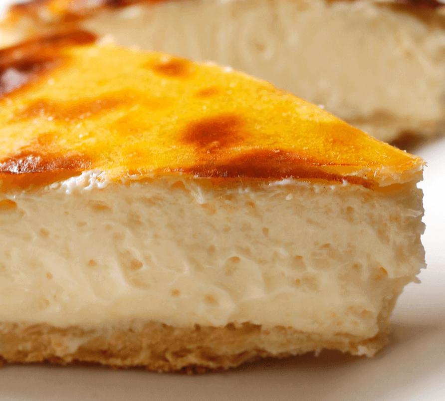 ベイクドチーズ断面