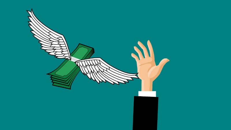 支出増の家計簿