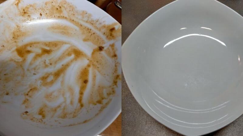 カレー皿ビフォーアフター